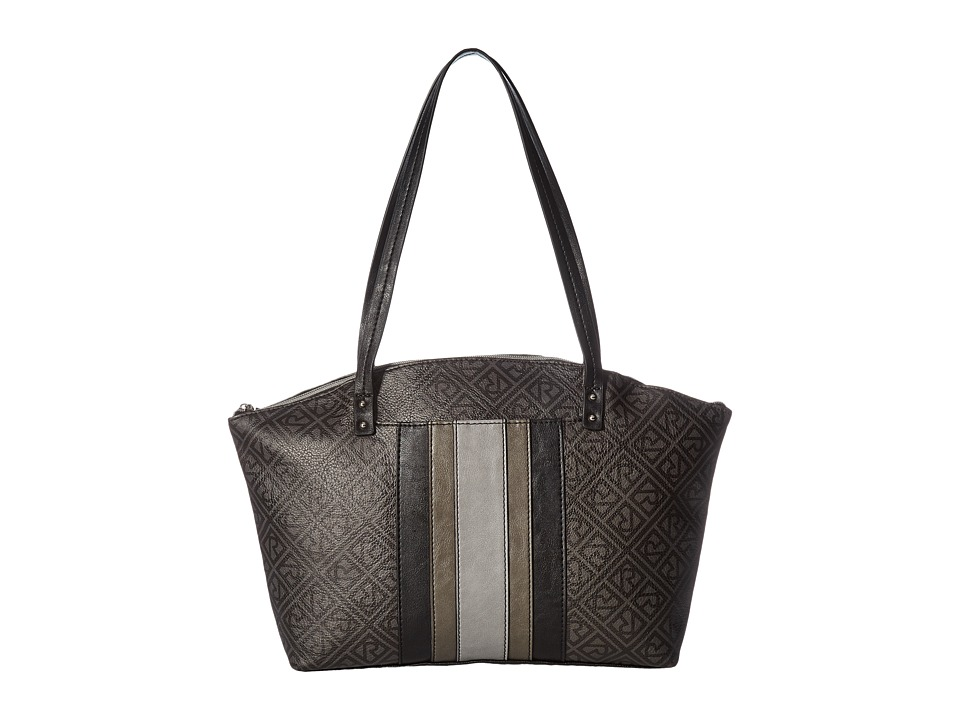 Relic - Caraway Novelty Medium Tote (Grey Multi Logo) Tote Handbags