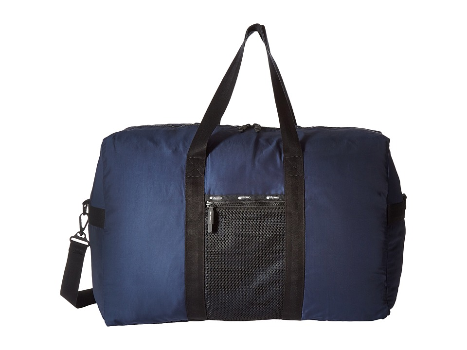 LeSportsac Luggage - Large Global Weekender (Classic Navy) Weekender/Overnight Luggage