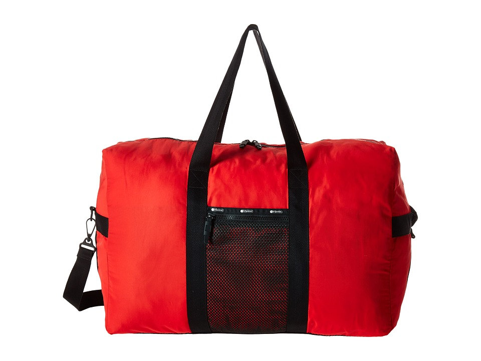 LeSportsac Luggage - Large Global Weekender (Classic Red) Weekender/Overnight Luggage