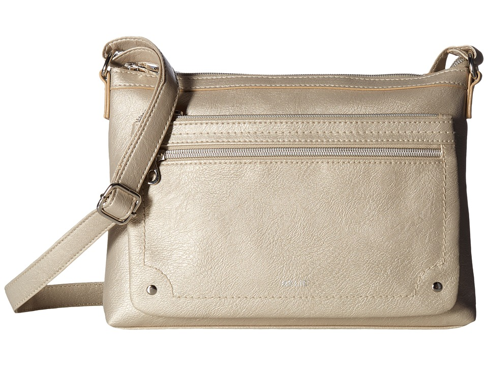 Relic - Evie East West Crossbody (Champagne) Cross Body Handbags