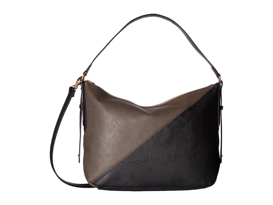 Relic - Landon Convertible Hobo (Grey/Black) Hobo Handbags