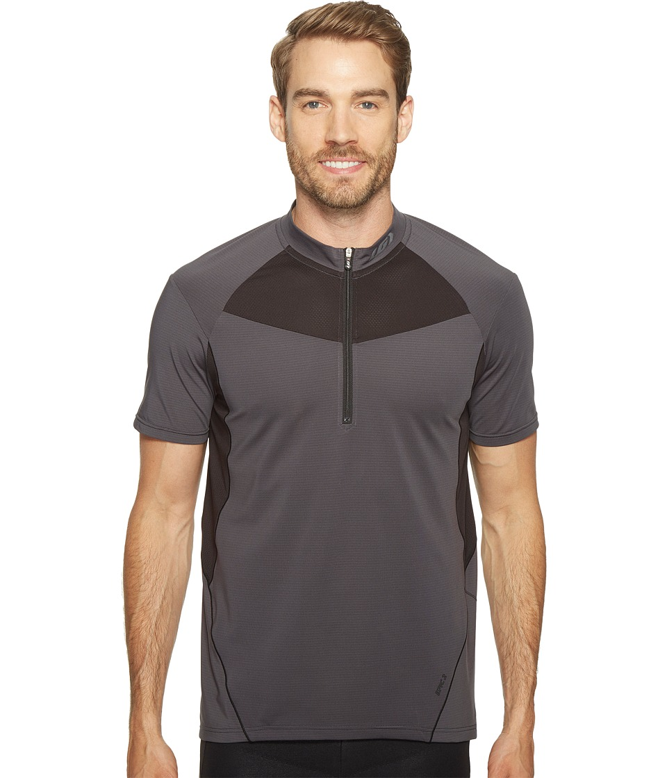 Louis Garneau - Epic 2 Jersey (Asphalt/Gray) Men's Clothing