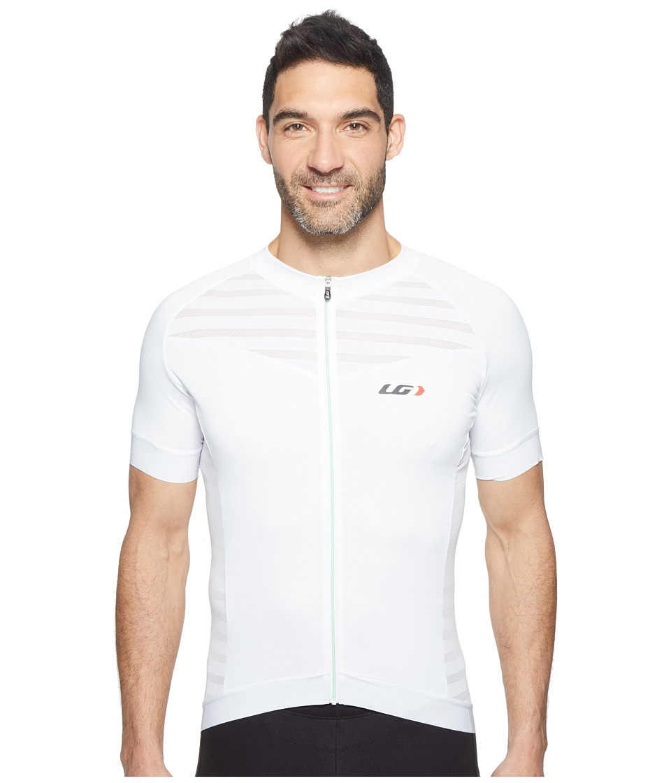 Louis Garneau - Icefit 2 Jersey (White/Mint) Men's Clothing