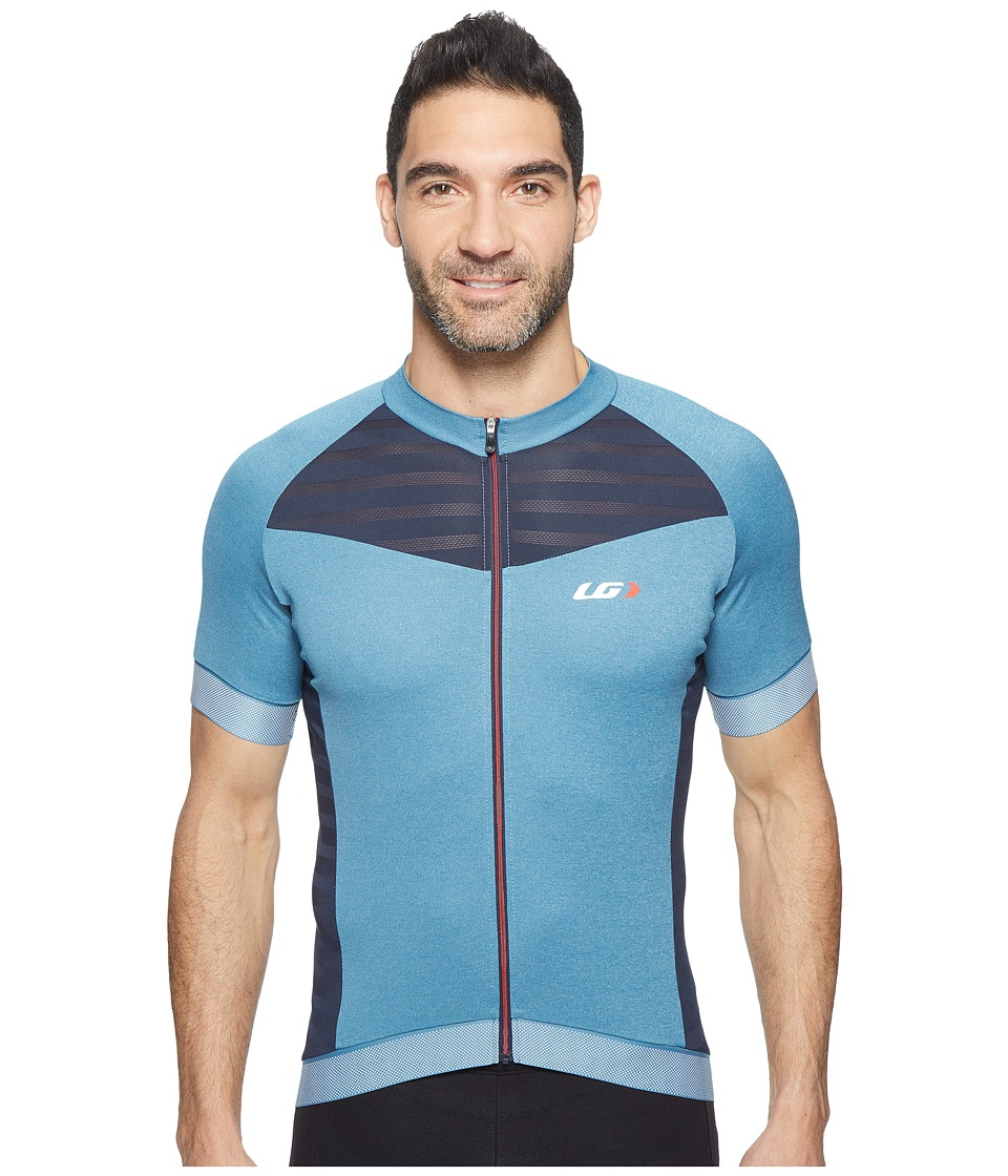 Louis Garneau - Icefit 2 Jersey (Moroccan Blue/Dark Night/Ginger) Men's Clothing
