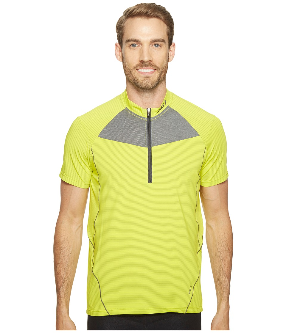 Louis Garneau - Epic 2 Jersey (Sulfur Spring/Asphalt) Men's Clothing