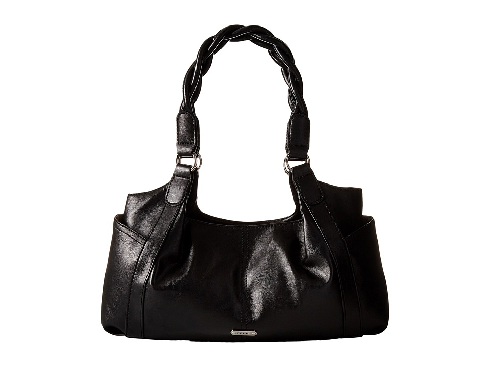 Relic - Heidi Double Shoulder (Black) Shoulder Handbags