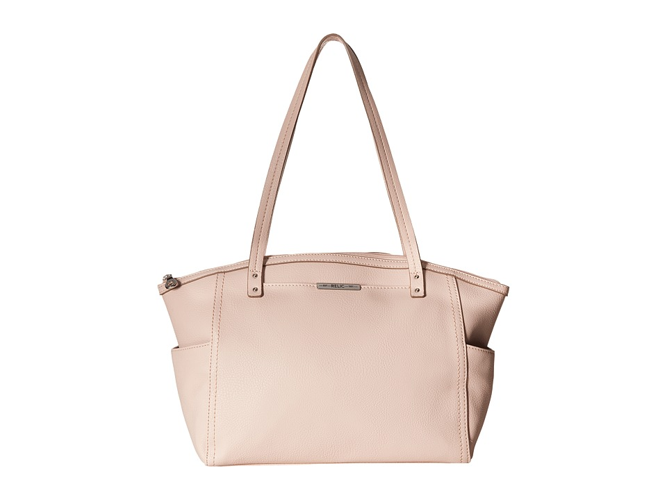 Relic - Caraway Solids Medium Tote (Barely Pink) Tote Handbags