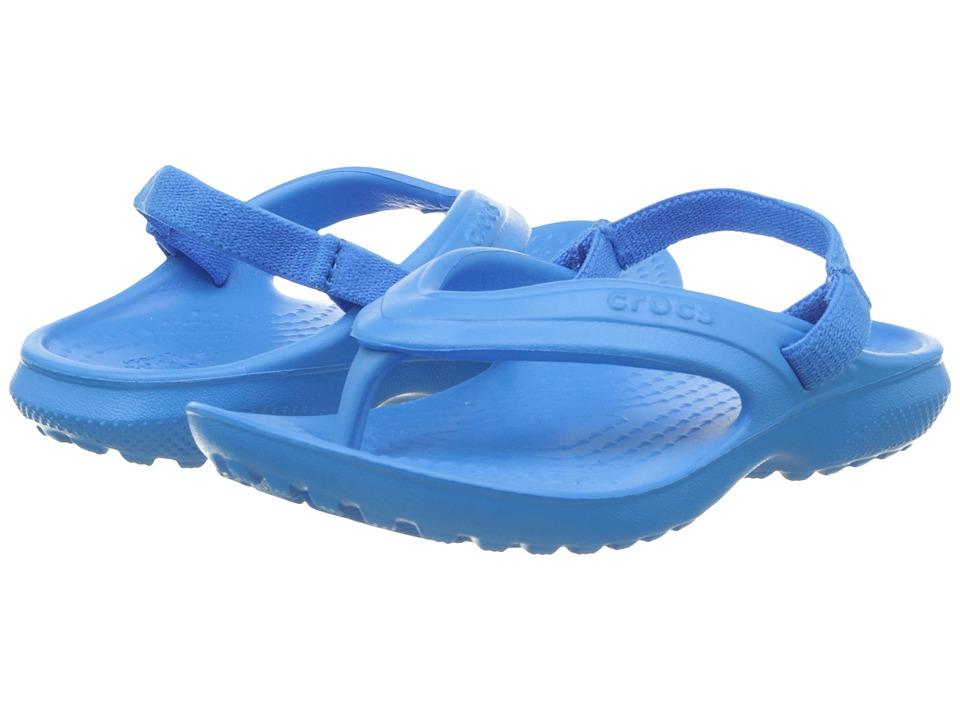 Crocs Kids - Classic Flip (Toddler/Little Kid) (Ocean) Kids Shoes