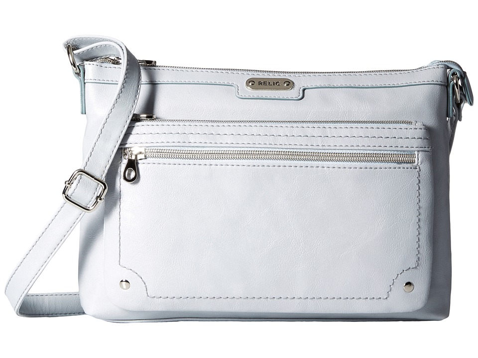 Relic - Evie East West Crossbody (Clear Blue) Cross Body Handbags