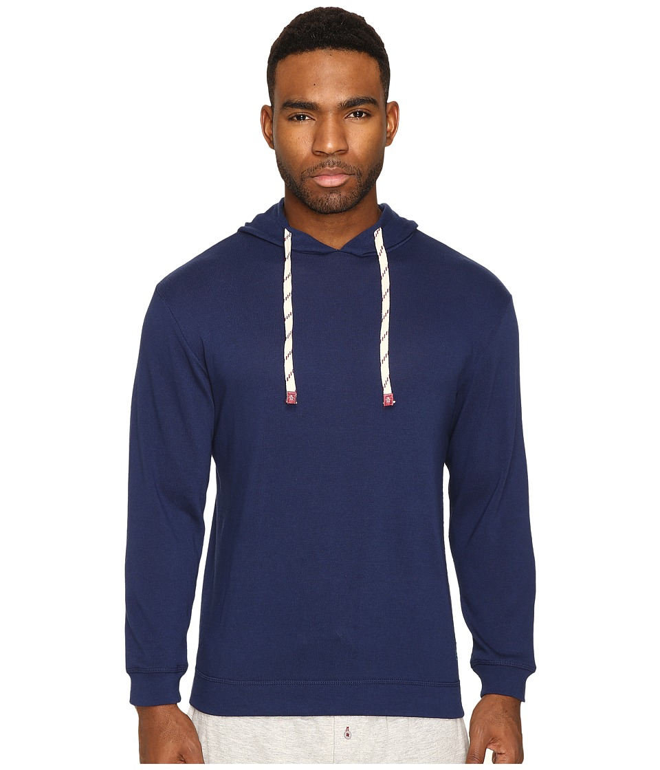 Original Penguin - Lounge Hoodie (Medieval Blue) Men's Pajama