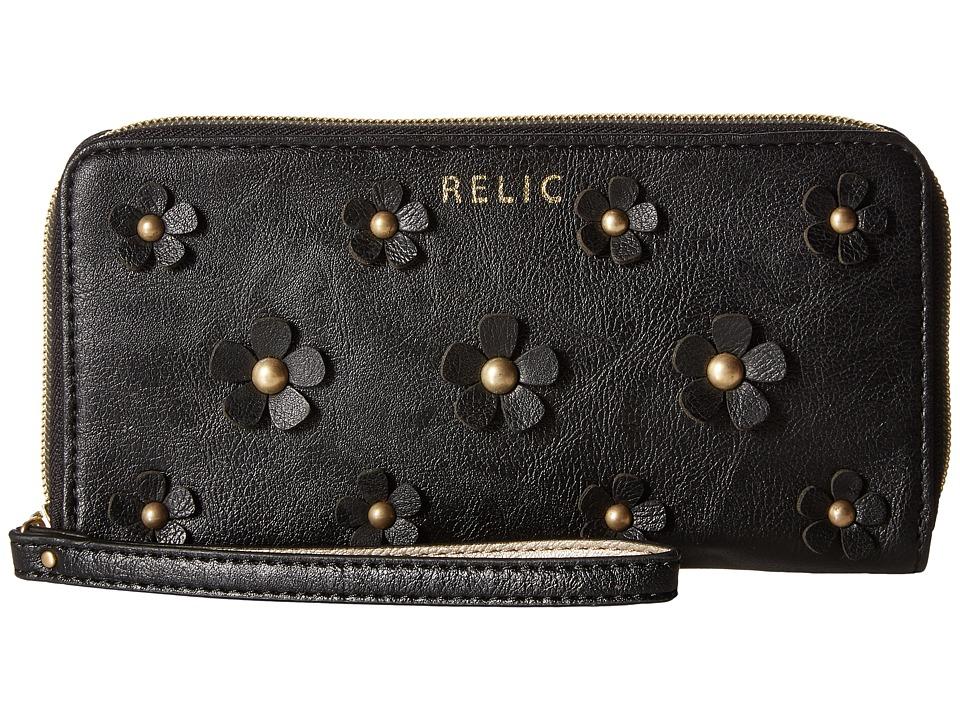Relic - Emma Checkbook (Black) Checkbook Wallet