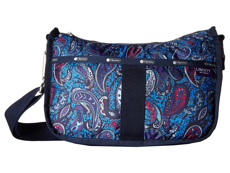 LeSportsac - Essential Hobo (Eastern Voyage Blue) Hobo Handbags