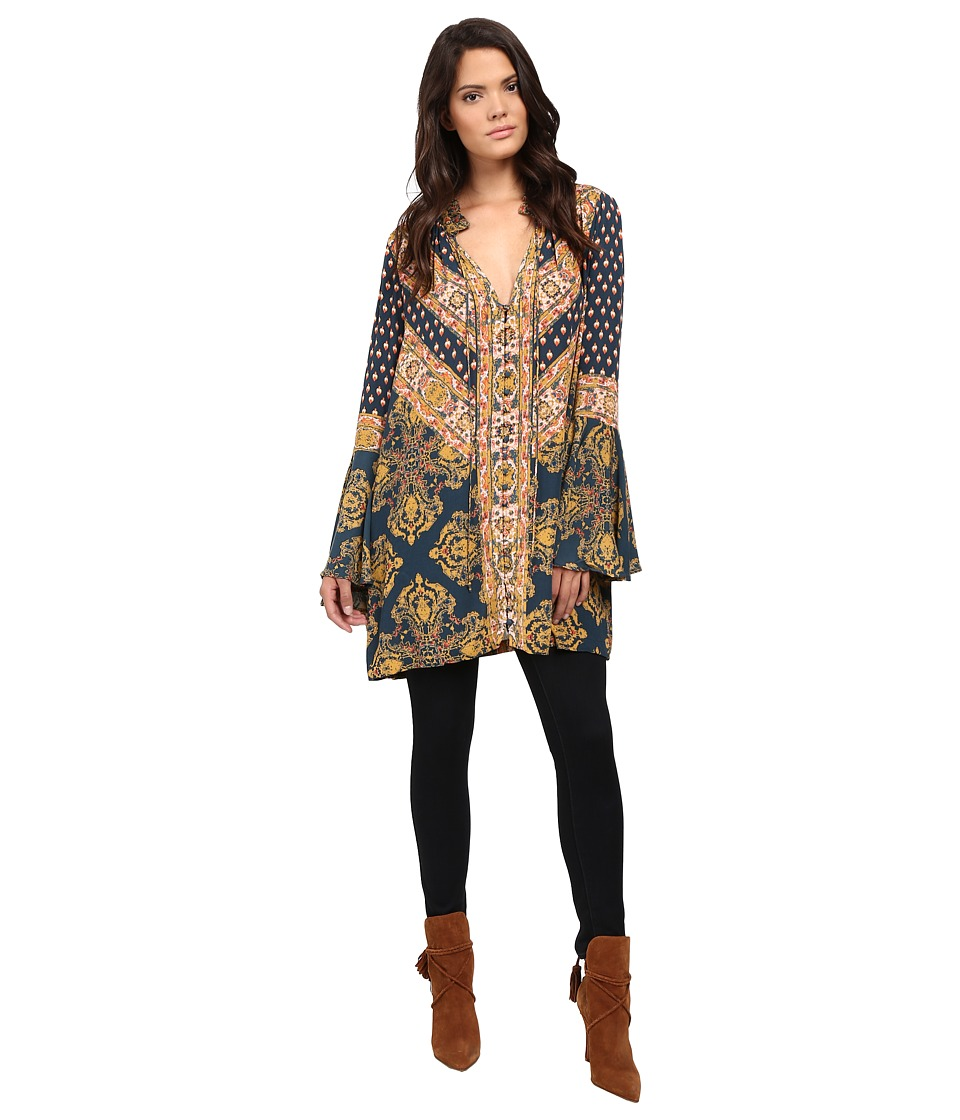 Free People - Magic Mystery Tunic (Navy) Women's Clothing