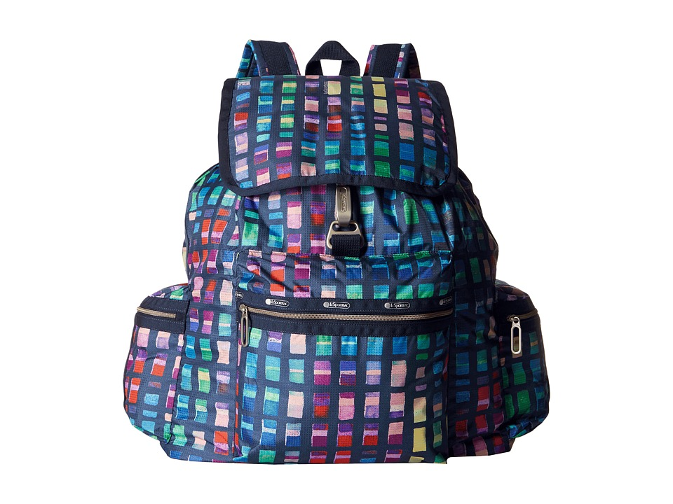 LeSportsac - 3-Zip Voyager (Color Blocks) Handbags