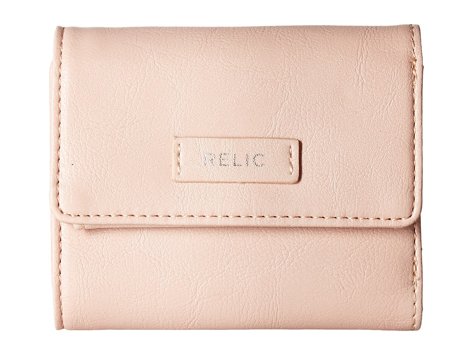Relic - Bryce Trifold (Barely Pink) Wallet Handbags