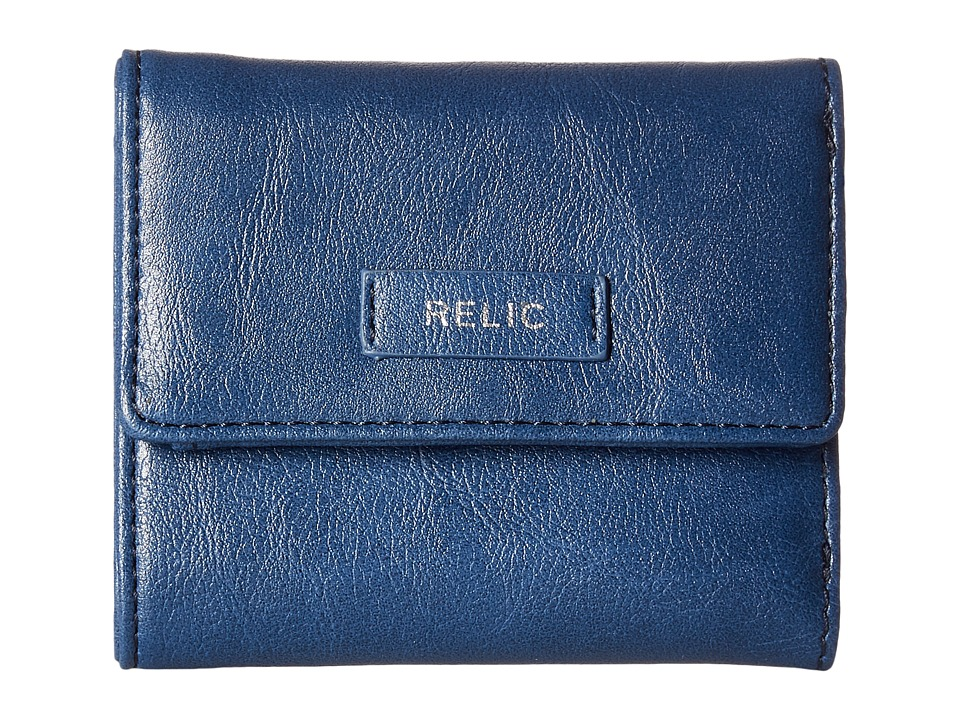 Relic - Bryce Trifold (Insignia Blue) Wallet Handbags