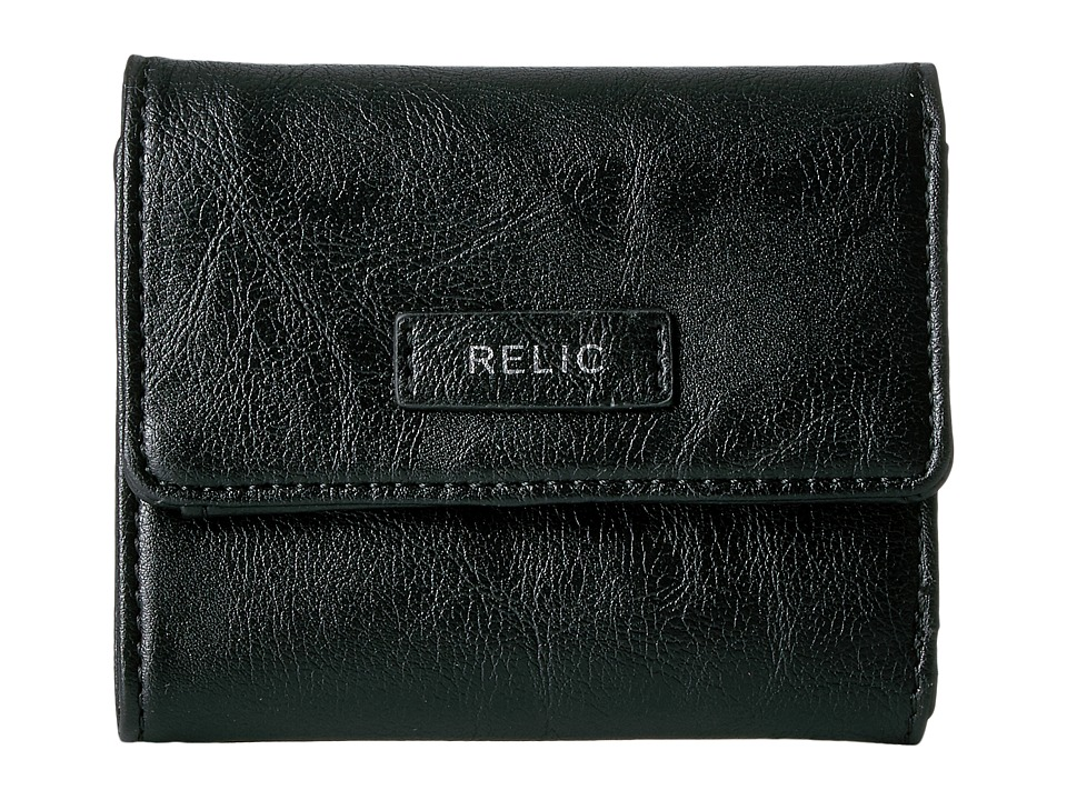 Relic - Bryce Trifold (Black) Wallet Handbags