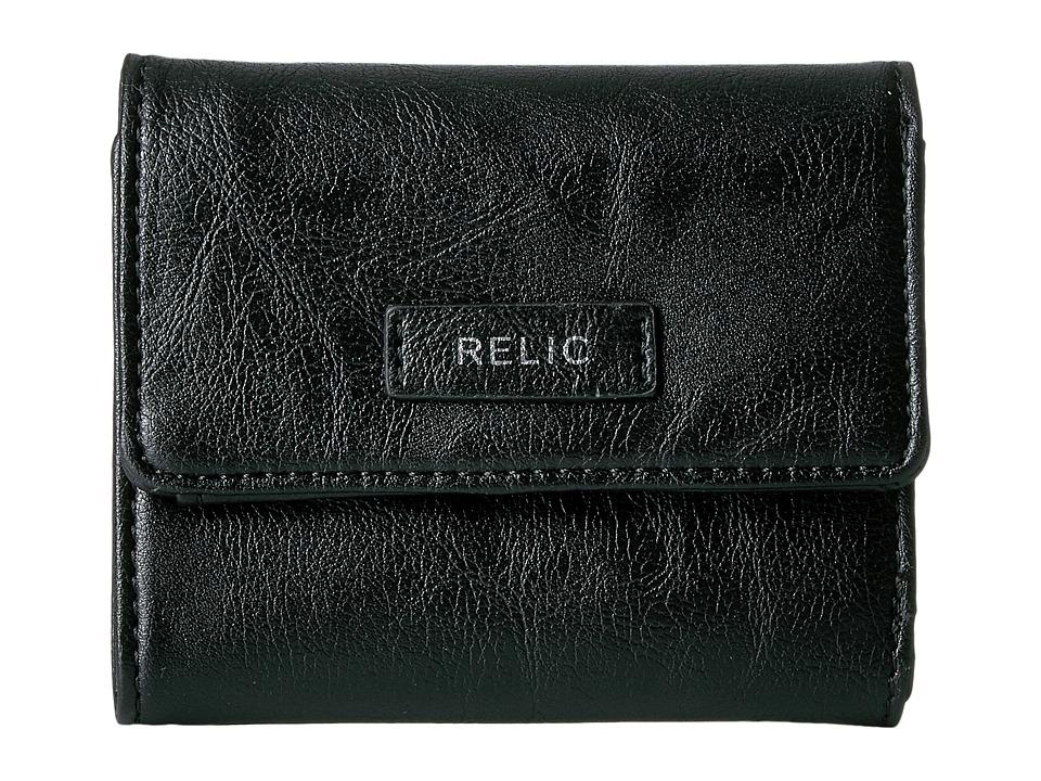 Relic - Bryce Trifold (Black) Wallet Handbags