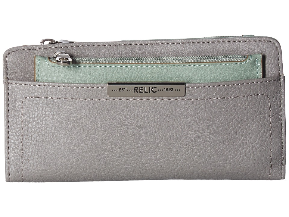 Relic - Caraway Checkbook (Smoke) Clutch Handbags