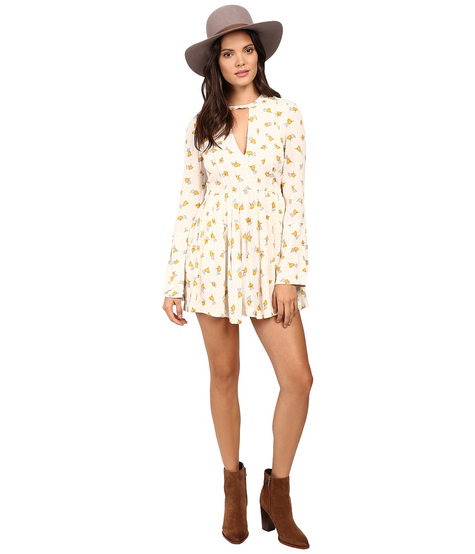 Free People - Tegan Mini Dress (Ivory Combo) Women's Dress