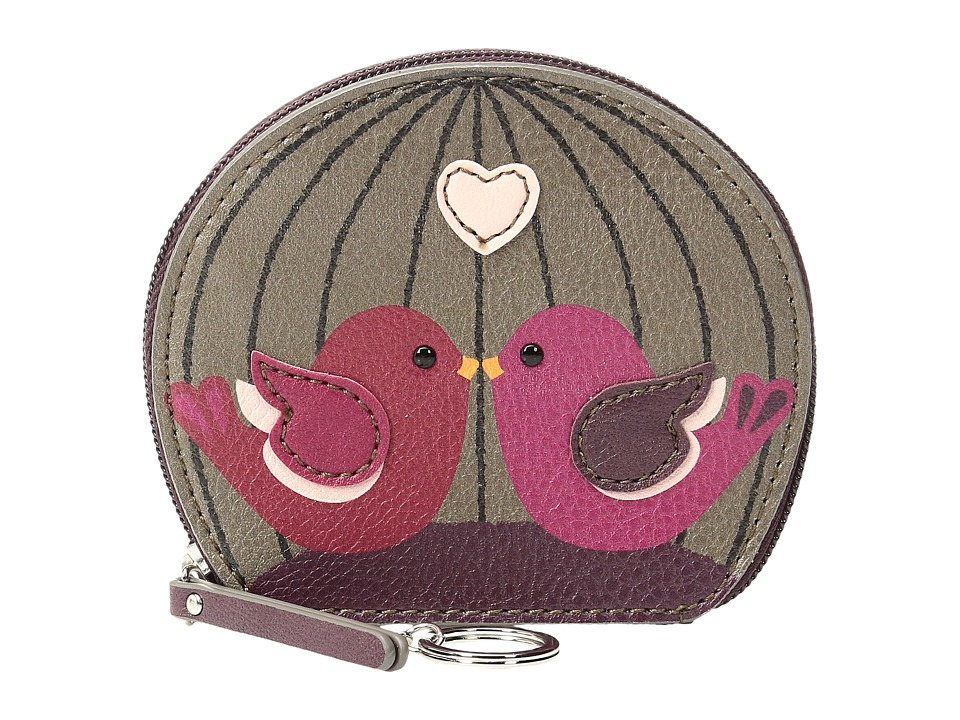 Relic - Caraway Zip Coin (Bird) Coin Purse