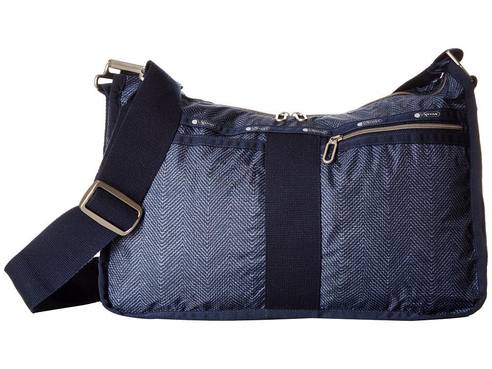LeSportsac - Everyday Bag (Herringbone Blue) Handbags
