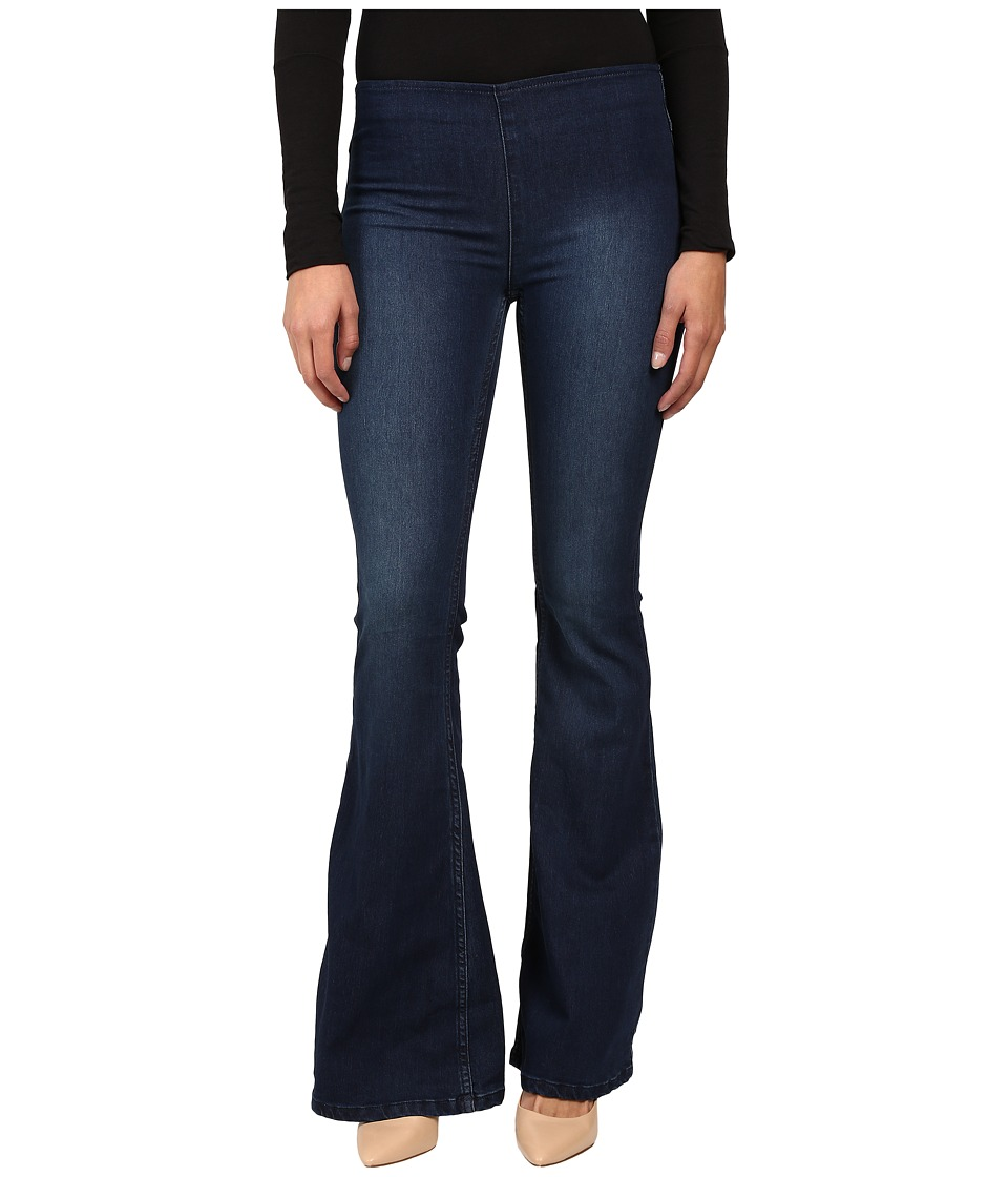 Free People - Penny Pull-On Flare (Denim Blue) Women's Jeans