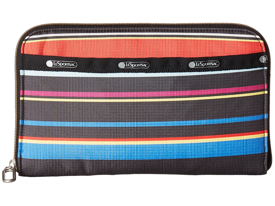 LeSportsac - Everyday Wallet (Ribbon Stripe) Wallet Handbags