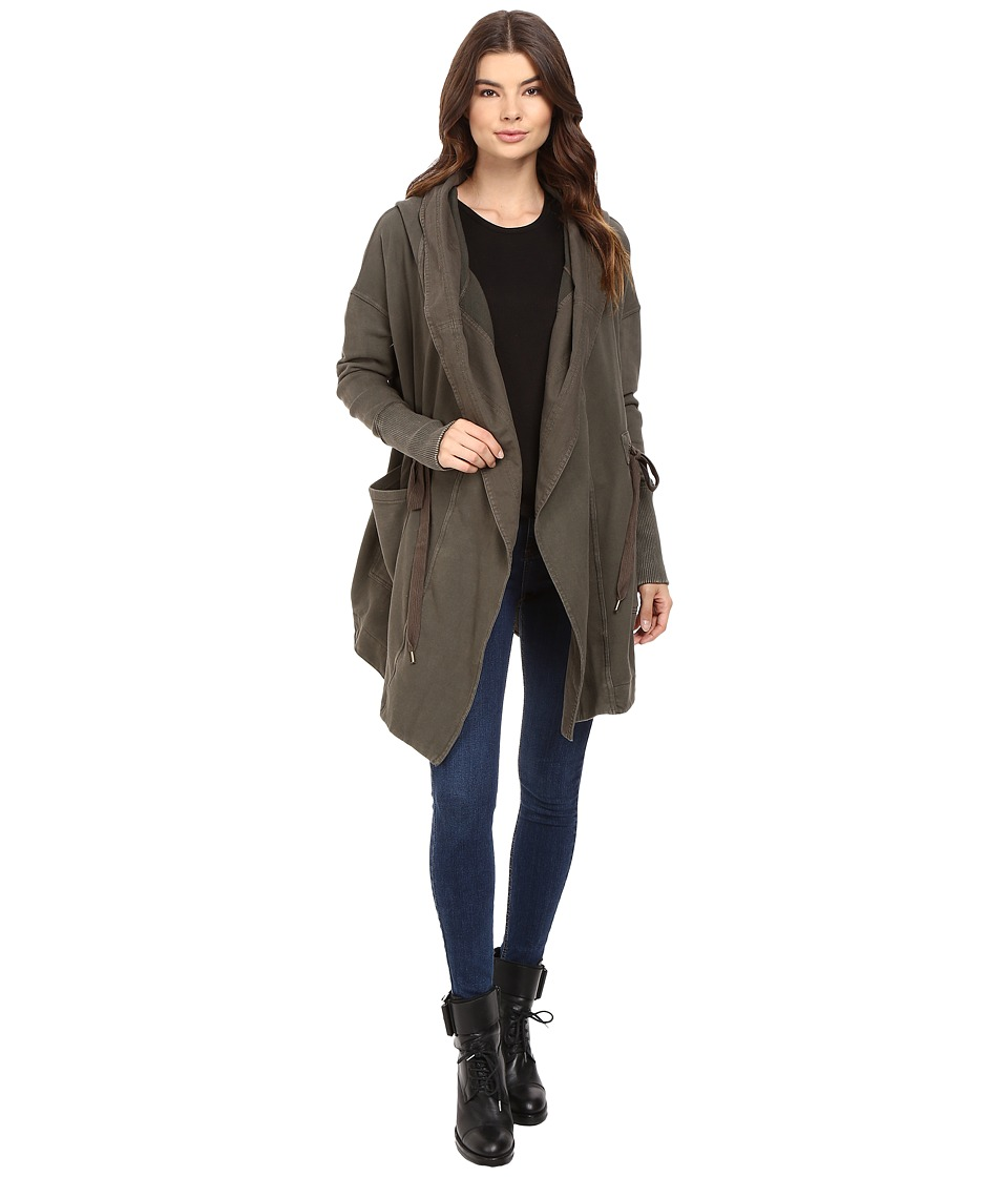 Free People - Brentwood Cardigan (Olive) Women's Sweater