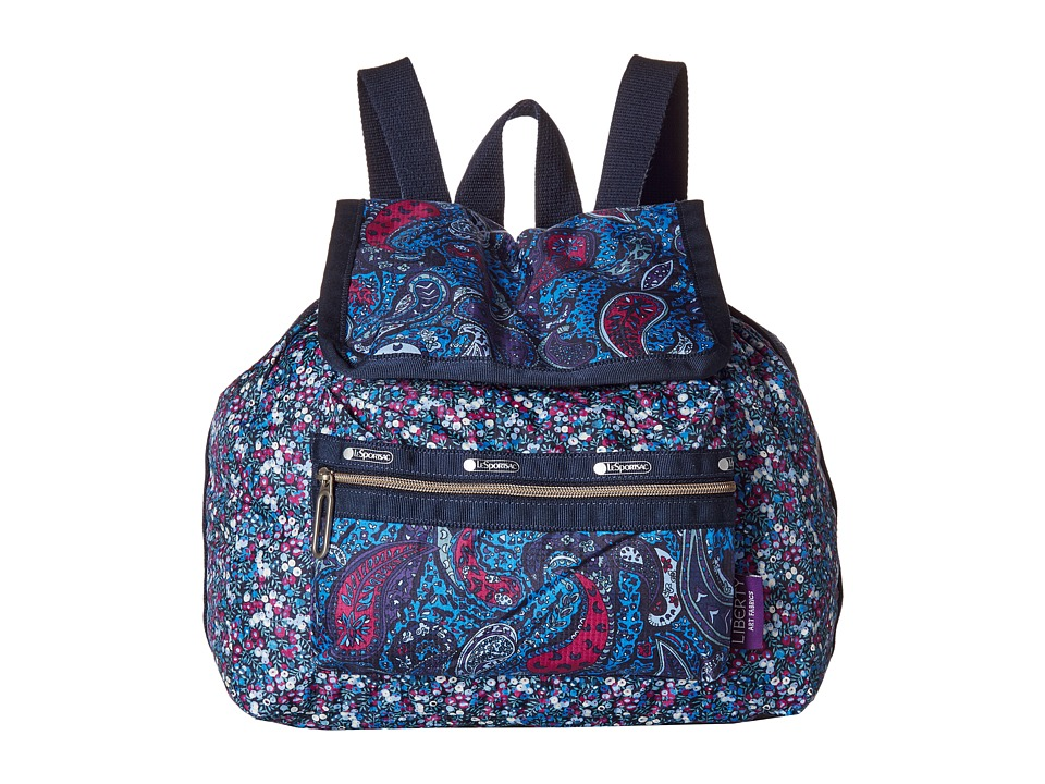 LeSportsac - Mini Voyager (East Combo Blue) Handbags