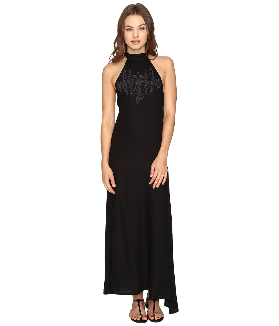 Billabong - Wandering Moon Dress (Black) Women's Dress