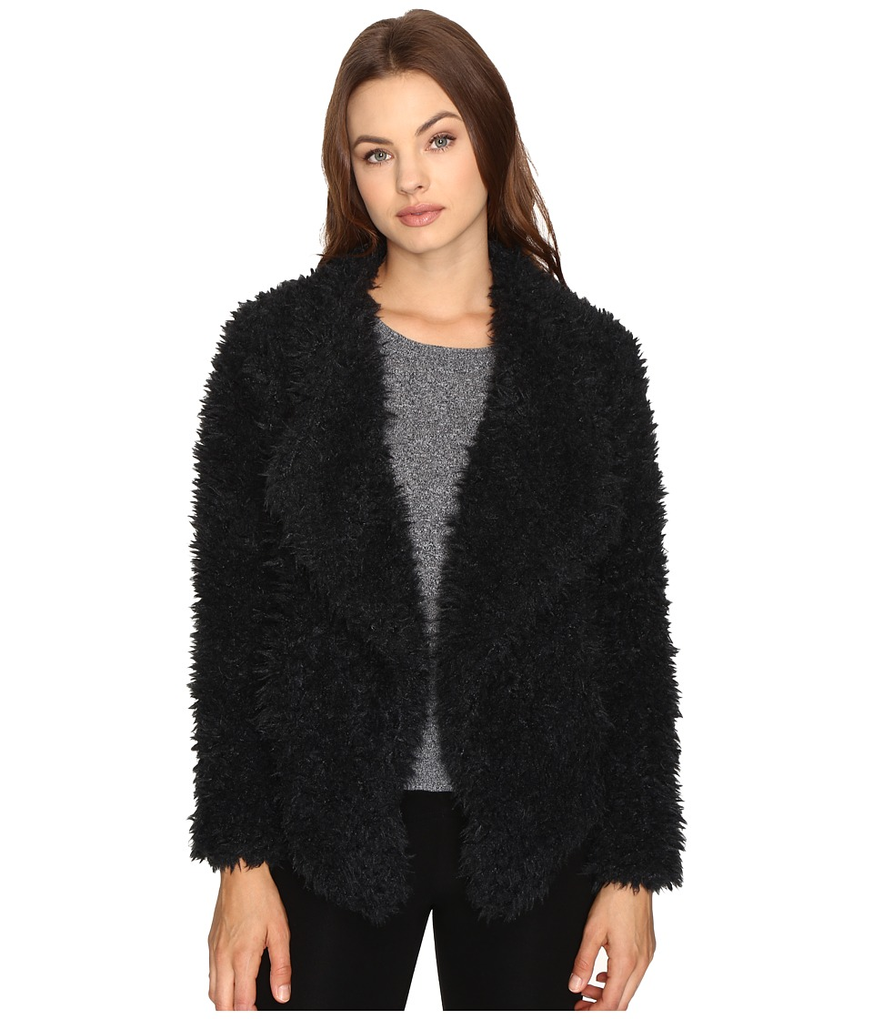 Billabong - Do It Fur Love Coat (Black) Women's Coat