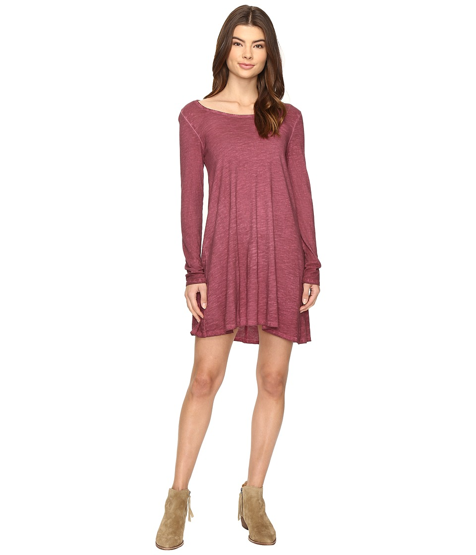 Billabong - Same Day Dress (Plum Berry) Women's Dress