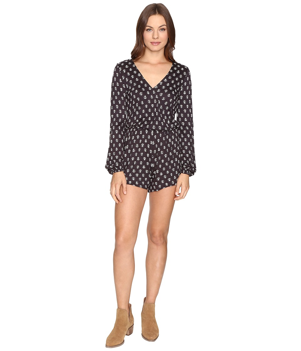 Billabong - Picture Perfect Romper (Off-Black) Women's Jumpsuit & Rompers One Piece