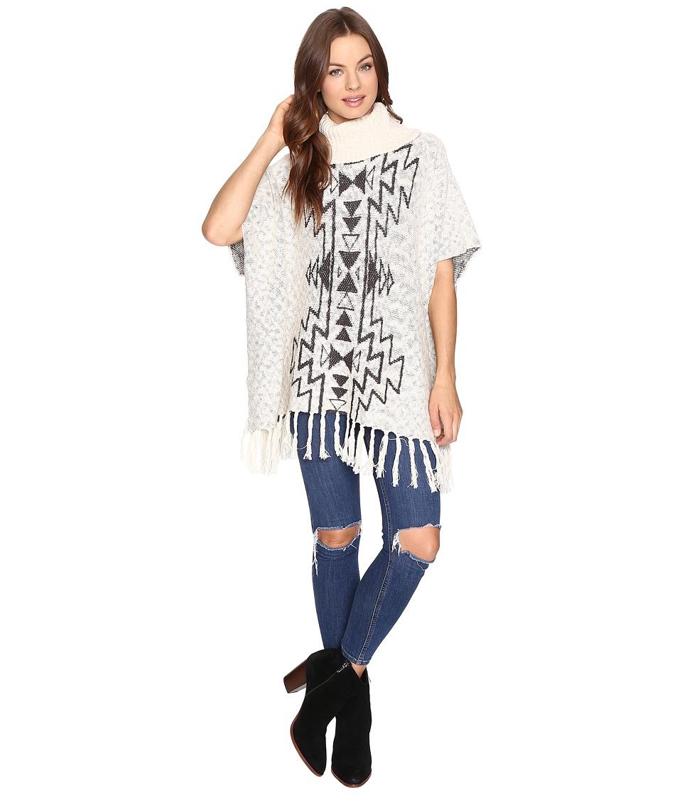 Billabong - Homeward Bound Poncho (White Cap) Women's Sweater
