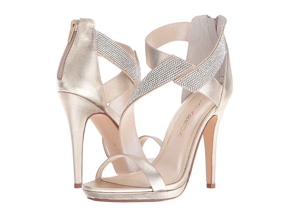 Caparros - Fantastic (Platino/Clear Metallic) High Heels