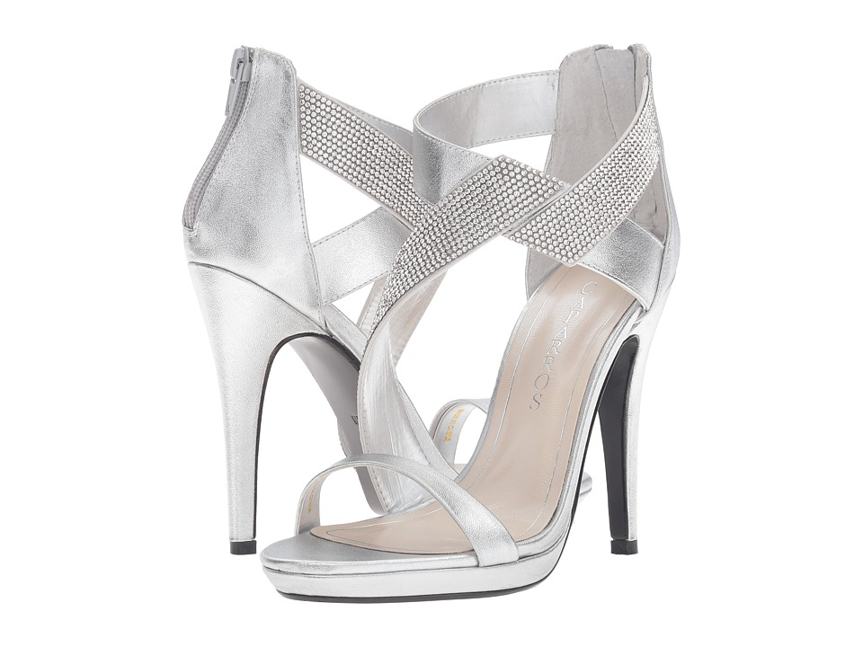Caparros Fantastic (Silver/Clear Metallic) High Heels