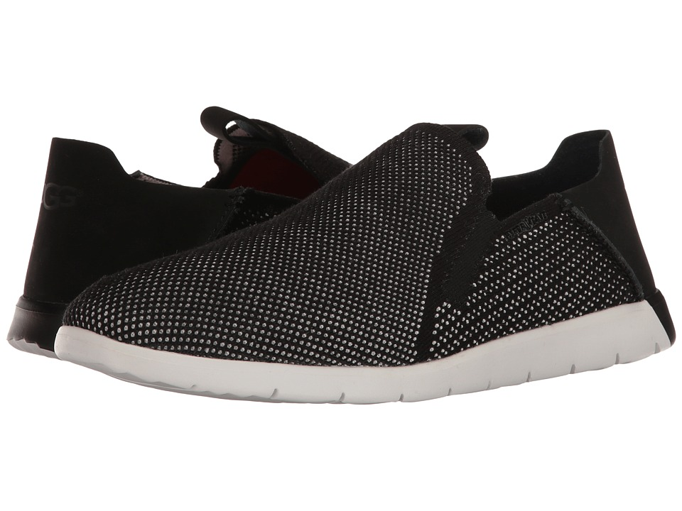 UGG - Knox HyperWeave (Black) Men's Slip on Shoes