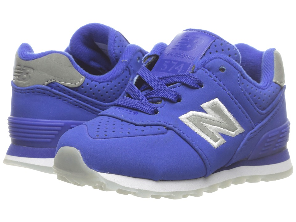 New Balance Kids KL574v1 Ice Rubber (Infant/Toddler) (Blue/Blue) Boys Shoes