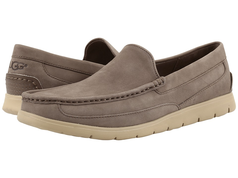 UGG - Fascot Capra (Mole) Men's Slip on Shoes