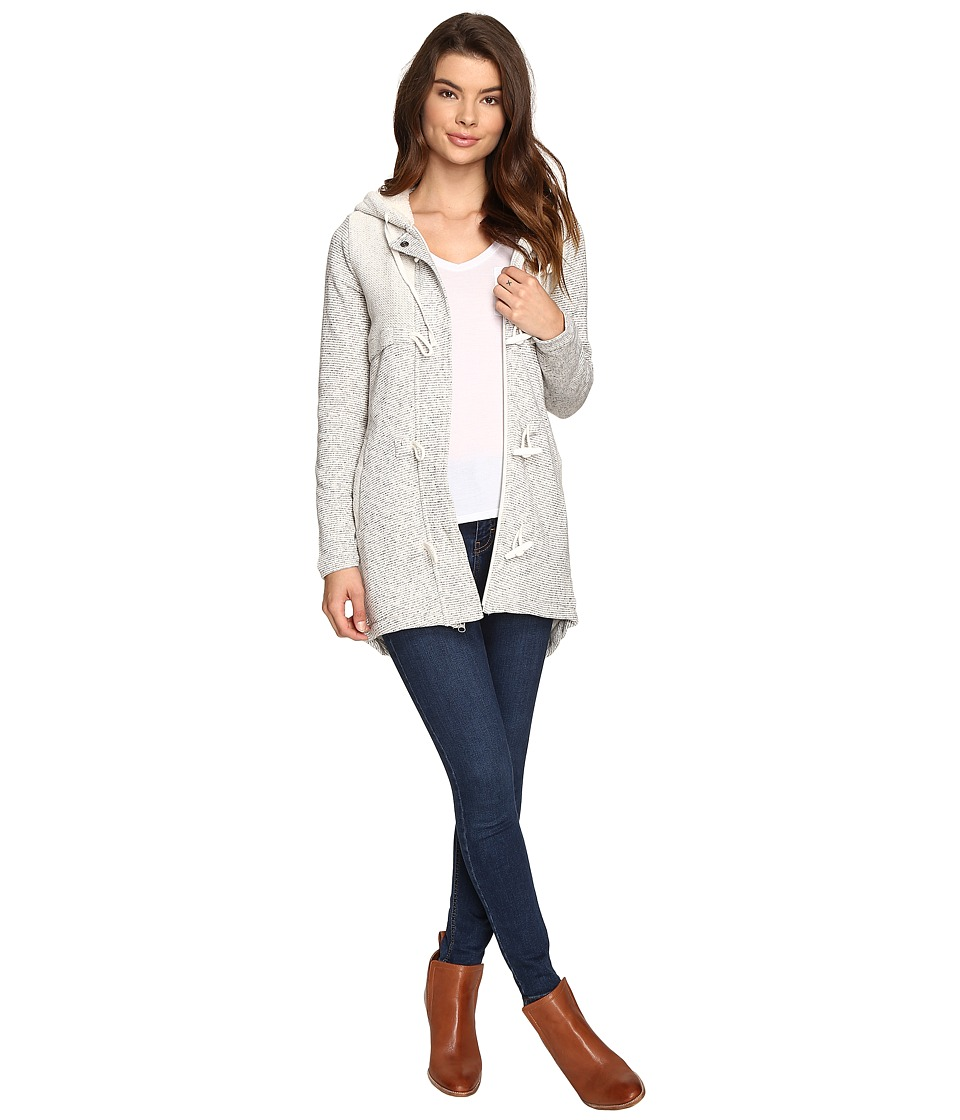 Rip Curl - Penny Longline Fleece Jacket (Natural) Women's Coat