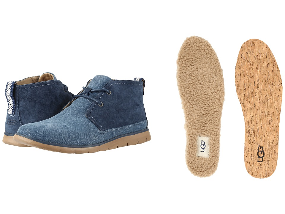 UGG Freamon Canvas (Marino) Men