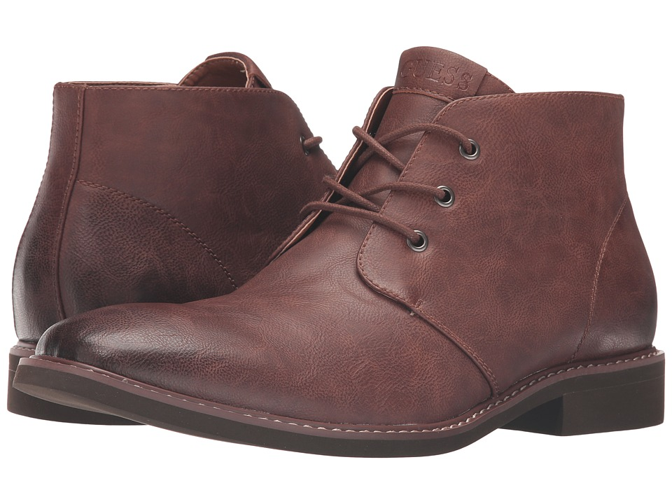 GUESS - Joeys (Brown) Men's Shoes