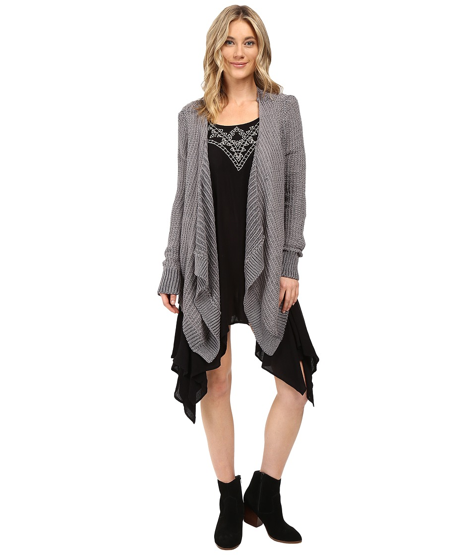Rip Curl - Innocence Cardi (Dark Grey) Women's Sweater