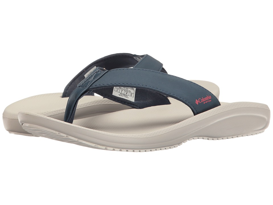 Columbia - Barraca Flip PFG (Zinc/Wild Salmon) Women's Sandals