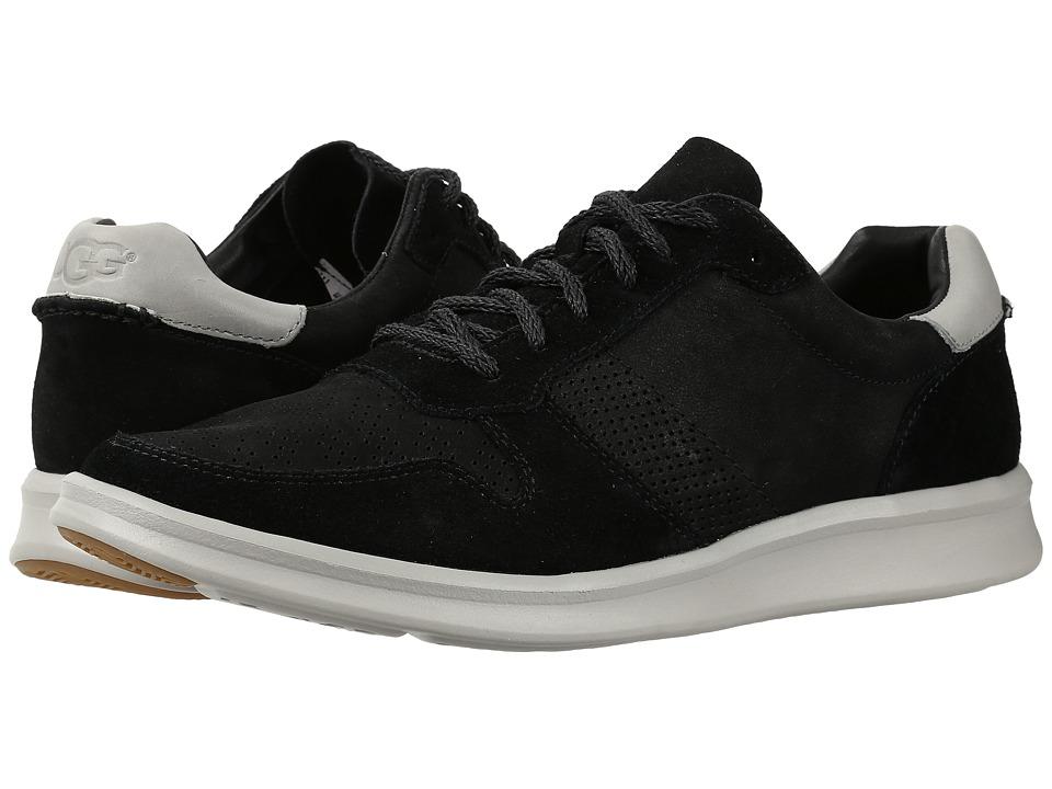 UGG - Slayte Stripe Perf (Black) Men's Shoes