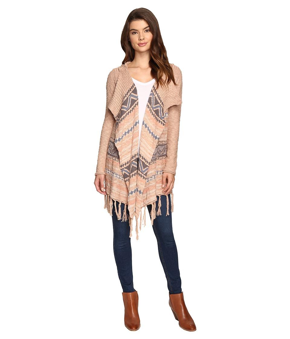 Rip Curl - Oakwood Cardigan (Natural) Women's Sweater