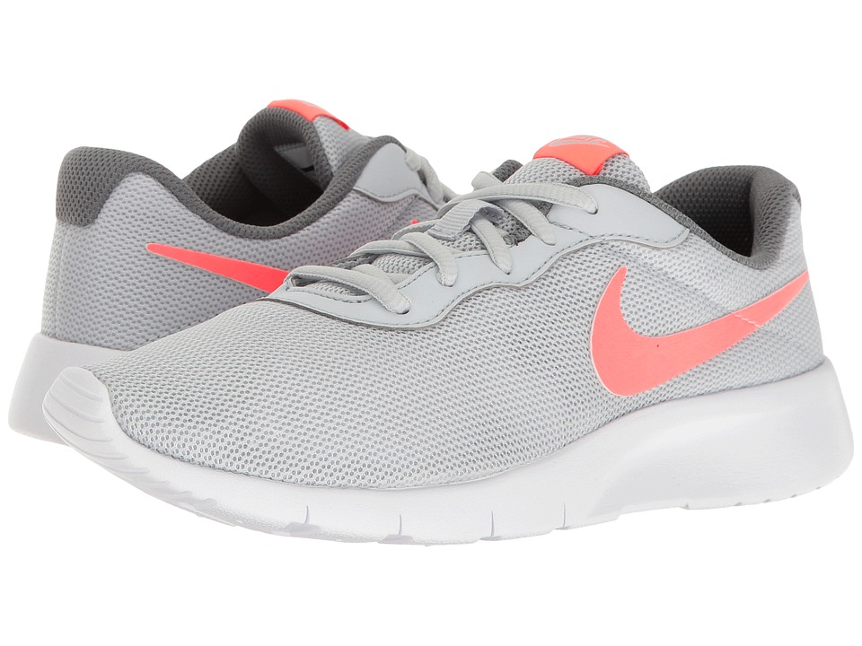 Nike Kids Tanjun (Big Kid) (Pure Platinum/Lava Glow/Cool Grey/White) Girls Shoes