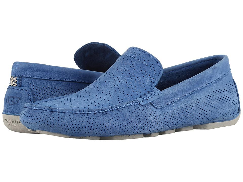 UGG Henrick Stripe Perf (Azul) Men