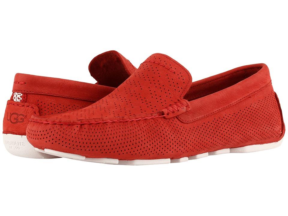 UGG - Henrick Stripe Perf (Tango) Men's Shoes